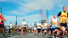 57,000 are taking part in the Great North Run
