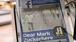Facebook in u-turn after deleting 'Napalm girl' image