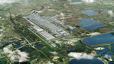 Ministers in 'free vote to expand Heathrow Airport'.