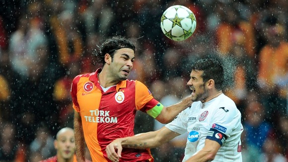 Galatasaray v Cluj