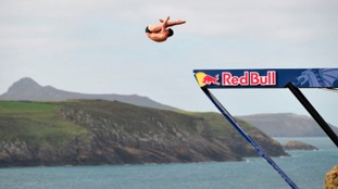 Second day of Pembrokeshire Cliff Diving event cancelled