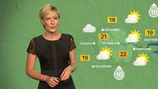 Weather: A much brighter start with sunny spells.