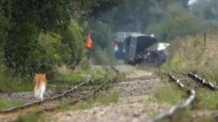 Dymchurch overturned train