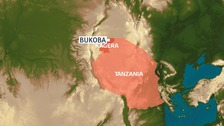 Map of Bukoba