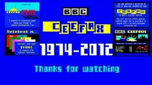 Ceefax switches off as Britain goes fully digital