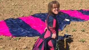 Woman in fatal parachute jump 'was doing what she loved'