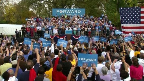 Obama in Ohio, where he can&#x27;t afford to lose