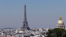 The teenager is alleged to have been planning a 'violent' attack in Paris