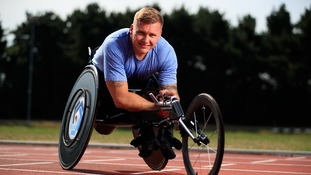 David Weir welcomes son but misses birth while at Rio Games