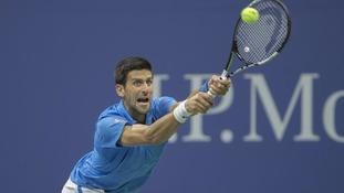 Novak Djokovic failed to retain his title
