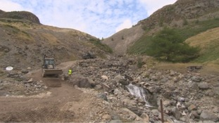 Army work to improve Glenridding's flood resilience