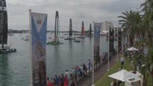 America's Cup races in Toulon