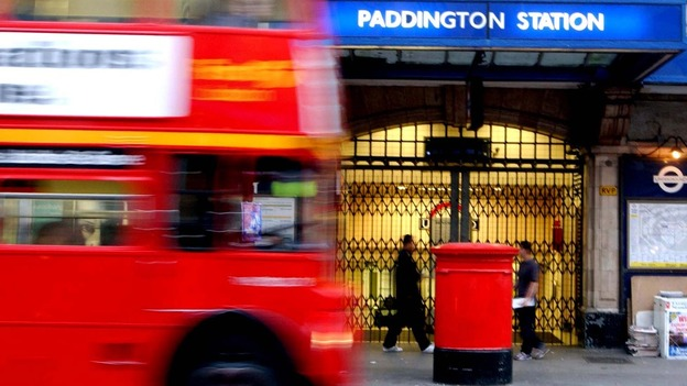 Paddington station.