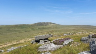 Brown Willy is the highest hill on Bodmin Moor
