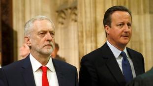 Jeremy Corbyn/David Cameron