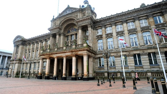 General view of Birmingham Council House