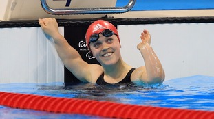 Ellie Simmonds.