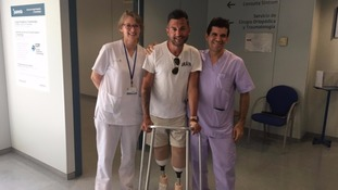 Man who lost both his legs to speak at House of Commons on World Sepsis Day