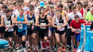 Last year 1,700 runners took part in the event