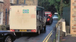 Bodmin blocked up as 'cycle town' works begin