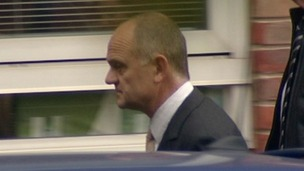 Former police officer Michael Upson who appeared before Norwich Magistrates charged in connection with the discovery of 650 wild bird eggs