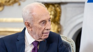 Former Israeli president Shimon Peres 'stable' after induced coma following stroke