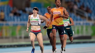 Libby Clegg set a new Paralympic record alongside guide Chris Clarke.