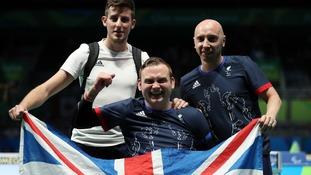 Table tennis champion Rob Davies.