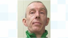 Convicted murderer Darren Jackson has absconded from HMP Sudbury in Derbyshire.