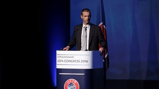 Uefa elect Slovenian Aleksander Ceferin as Platini replacement