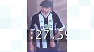 Police want to speak to this man in connection with an assault at a Metro Station in Newcastle.