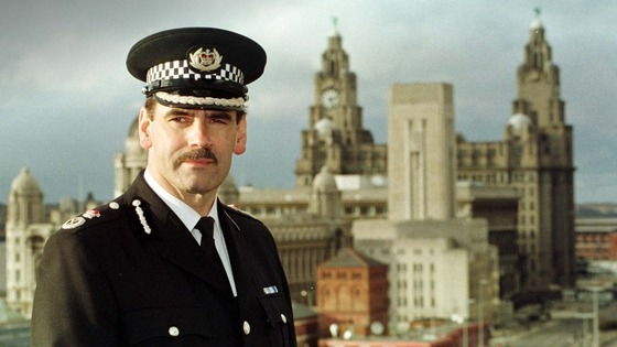 Norman Bettison pictured in 1998 when he became chief constable of Merseyside