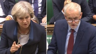 PMQs: Corbyn attacks May over grammar school 'segregation'