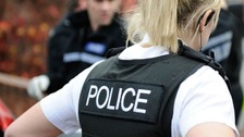 The incident took place at Triangle Park, off Moor Lane, Weston-super-Mare, shortly after 8pm.