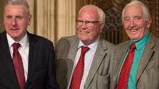 Labour MPs Vernon Coaker, Ronnie Campbell and Dennis Skinner
