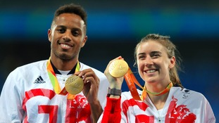 Libby Clegg and Chris Clarke