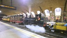 London Underground&#x27;s test steam run.