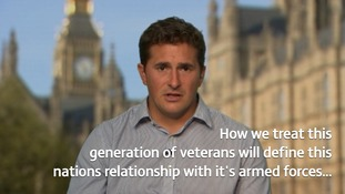 MP Johnny Mercer says he will push PM for better veteran care