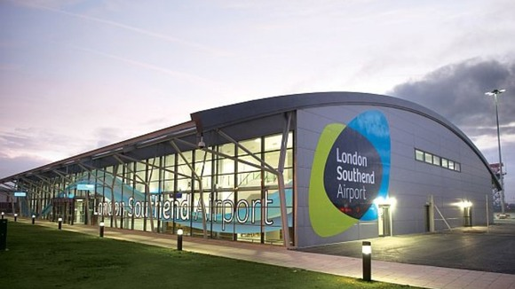 London Southend's current terminal building