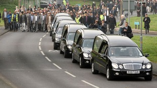 The funeral cortege