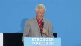 Bill Clinton: It's about time I stood in for Hillary