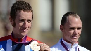 Bradley Wiggins and Chris Froome had details leaked