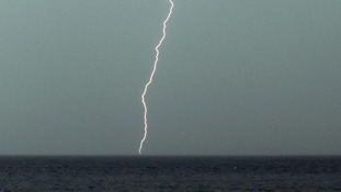 Weather warning for heavy and thundery showers in East Anglia
