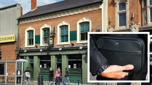 Pub enforces ban on 'man bags'