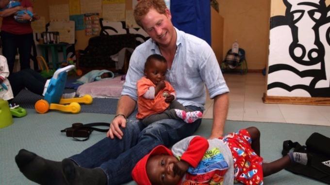 Prince Harry charity