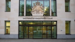 The hearing was held at Westminster Magistrates' Court.