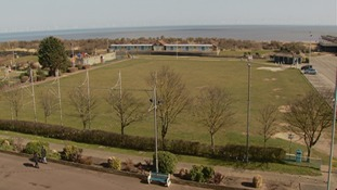 The land known as Pier Field on Skegness seafront