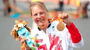 Gold medal for Mytholmroyd's Karen Darke