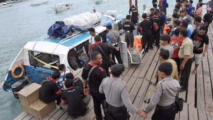 Britons 'on-board deadly tourist ferry explosion' in Bali