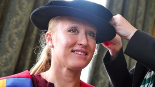 Ipswich tennis star gets honorary degree